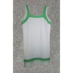 vintage plus size white dress 14 16 1x